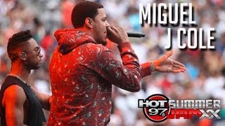 "MIGUEL & J COLE ""Power Trip"" Live at Summer Jam XX"