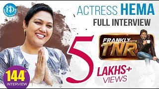 Actress Hema Dynamic Exclusive Interview || Frankly With TNR #144