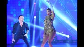 ¡Fede Bal y Laurita Fernández brillaron en el Cha cha pop!