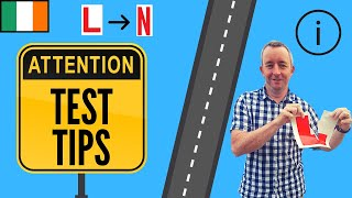 Driving Test Tips Ireland