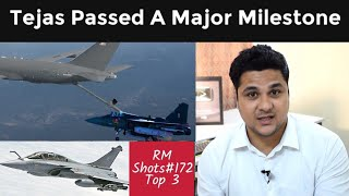 Tejas Passed Wet Mid Air Refueling, IAF Pilots Going To France For Rafale| Captain Antrix