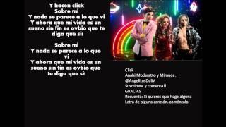 Click-Anahi,Moderatto y Miranda.Letra