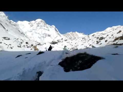 Annapurna Sanctuary: M.B.C – A.B.C (24-01-2012)