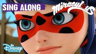 Miraculous Ladybug | Theme Song - Sing Along Game 🐞| Disney Channel UK