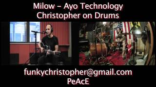 "50 Cent ft Justin Timberlake ""Ayo Technology"" performed by Milow :: Christopher on Drums"