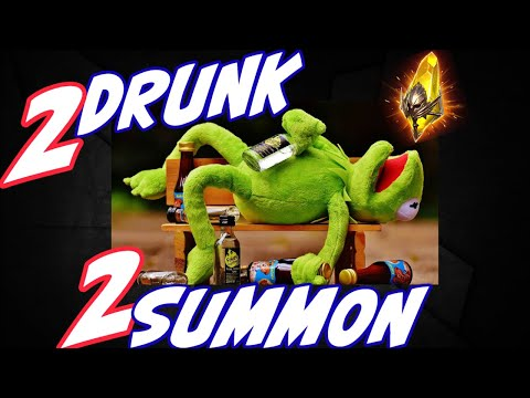 DRUNK Summons 5legos out of 10shards at the end! Raid Shadow Legends