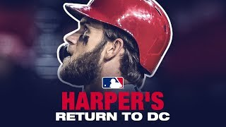 Harper's EPIC return to D.C. (boos, HR, bat flip and more)