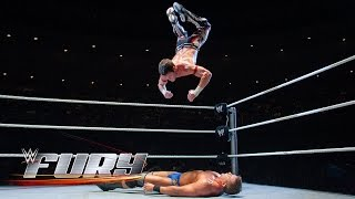 24 out-of-this-world Shooting Star Presses: WWE Fury, February 8, 2015