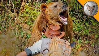 GRIZZLY BEAR ATTACK! width=