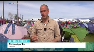 TRT World's Alican Ayanlar reports the latest conditions inside Idomeni refugee camp after EU summit