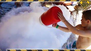 Liquid Nitrogen vs The Hot Springs