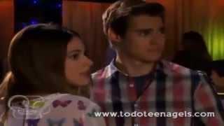 Violetta 2  Diego canta Voy por ti y Leon se enoja - Capitulo 3