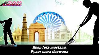 Roop Tera Mastana Unplugged Sanam Puri Karaoke Sam Karaoke