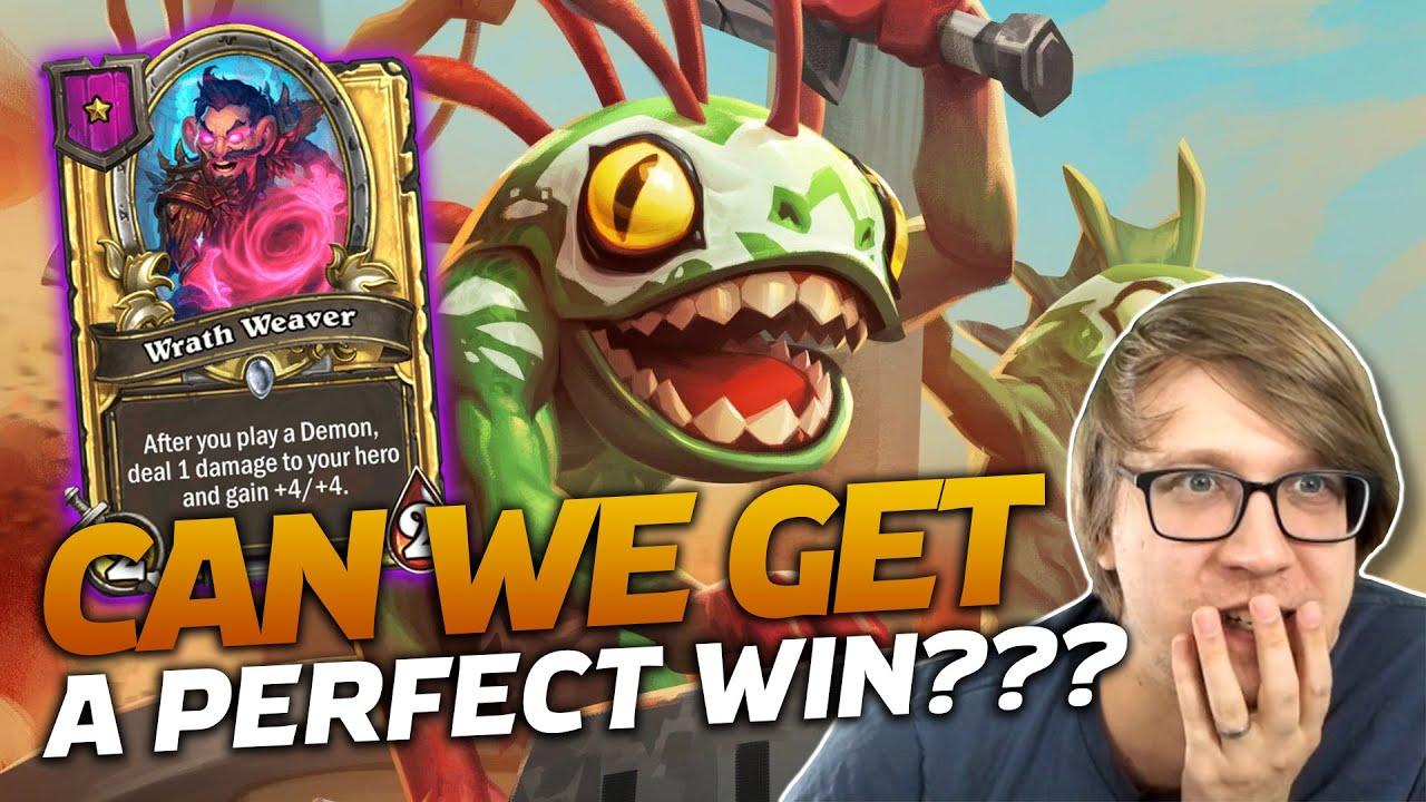 Savjz - Can We Get A Perfect Win??? | Hearthstone Battlegrounds | Savjz