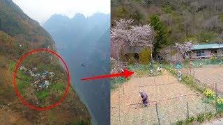 Pendaki Temukan Desa di Gunung,Pas didekati ia Ketakutan !! Ternyata penduduknya...