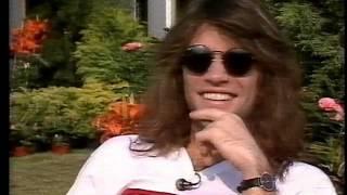 "Jon Bon Jovi on ""Power Hour"" 1989 (short interview)"