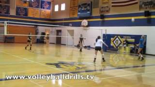 Volleyball Fun Drill   Queen of the Court