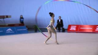 Valeriya Sharipova - Ribbon - 2014 Pacific Rim Championships Team/AA Final