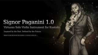 Signor Paganini Solo Violin