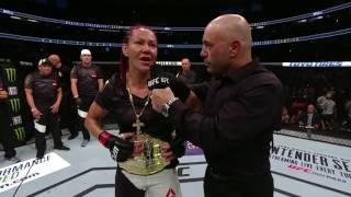 UFC 214: Cris Cyborg Octagon Interview