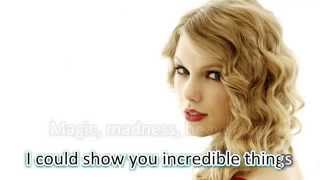 Blank Space - Taylor Swift (LYRICS WITH AUDIO)