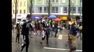 Ayni Bolivia Múnich - CAPORALES desfile St. Patrick's Day 2012