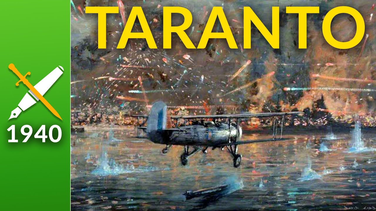 The Battle of Taranto : When Biplanes Crippled a Fleet
