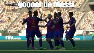 FIFA 17  Barcelona vs Juventus 3-1 ida y vuelta