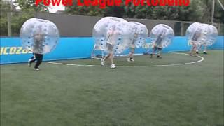 Power league Portobello - Bubble Football Zone Video