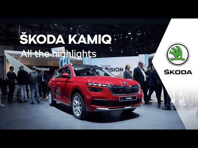 ŠKODA KAMIQ: All the highlights