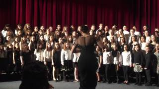 KUSIMAMA cover by SACHEM ALL DISTRICT  SELECT EMF CHORUS (4th & 5th grades)