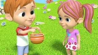 Jack And Jill Went Up The Hill | Nursery Rhymes for Children | Cartoons for Kids
