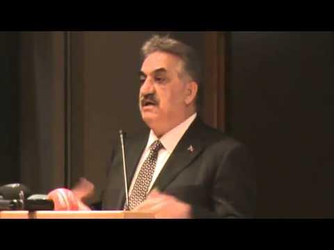 Gümrük ve Tekel Bakanı Hayati Yazıcı'nın 11.Vergi Kongresi Açılış Konuşması (1)