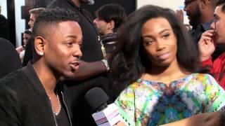 Kendrick Lamar Entrevista Alfombra Roja - American Music Awards 2013