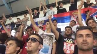 Како је дочекана химна Русије у Бару (15.06.2016)