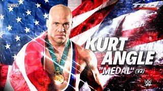 """WWE: Kurt Angle - """"Medal"""" (V2) - Official Theme Song 2017"""
