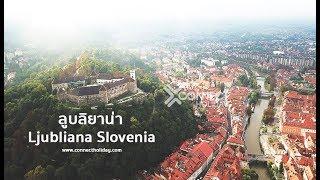 ลูบลิยาน่า เมืองหลวงประเทศสโลวีเนีย Ljubliana Slovenia