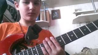 Как играть на электрогитаре песню Slipknot sulfur