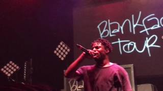 Isaiah Rashad - Park (Live at the Fillmore Jackie Gleason Theater in Miami Beach on 9/29/2016)