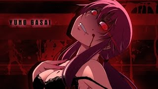 "Mirai Nikki Remix AMV | "" Scary Monsters and Nice Sprites"" Skrillex"