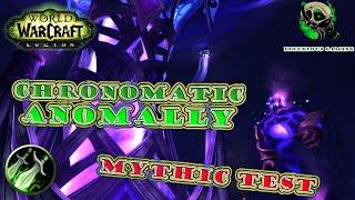 [Legion Beta] Rogue - Mythic Chronomatic Anomaly Testing- The Nighthold - world of warcraft