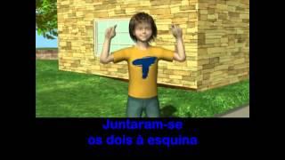 LÁ EM CIMA ESTÁ O TIRO-LIRO-LIRO - ANIMAÇÕES com GESTOS - Editora Nova Educação