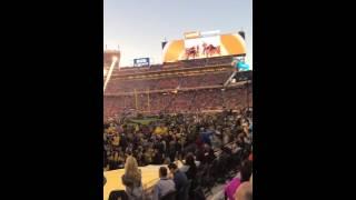 Coldplay, Bruno Mars and Beyonce live at Super Bowl 50 Part 4