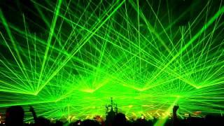 B2S HARDBASS 2011 Lightshow / Laser / Festival