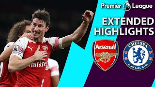 Arsenal v. Chelsea | PREMIER LEAGUE EXTENDED HIGHLIGHTS | 1/19/19 | NBC Sports