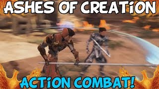 Ashes Of Creation Show Action Combat Gameplay! - My Thoughts width=