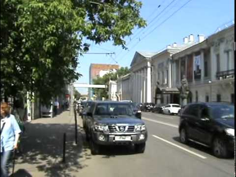 Moscow downtown scenery, Russia – June 02, 2011 (Part 1/2)