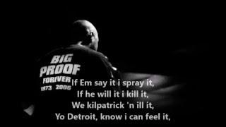 Proof - Trapped (feat.  Eminem) Lyrics