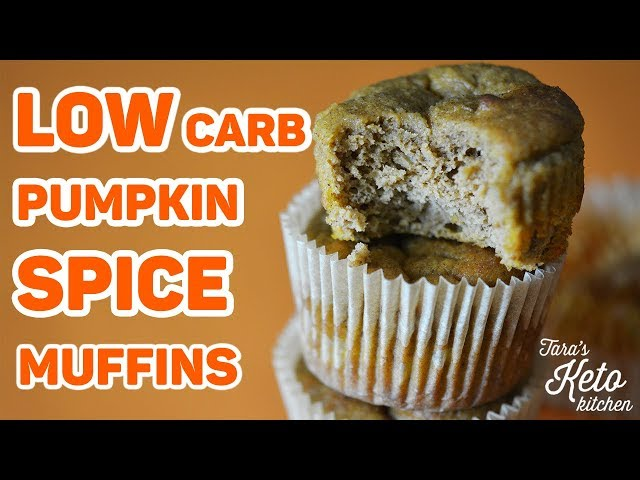 Low Carb Pumpkin Spice Muffins | Fall Keto Recipe Extravaganza!! | Keto Friendly Pumpkin Muffins