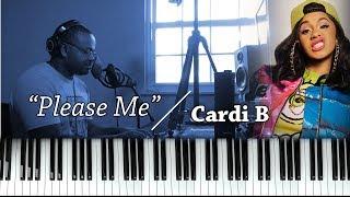 Piano Lesson | Cardi B | Please Me (feat. Bruno Mars)